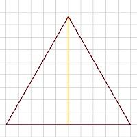 Gleichseitiges Dreieck berechnen