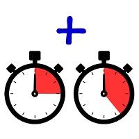 Zeitrechner dezimal